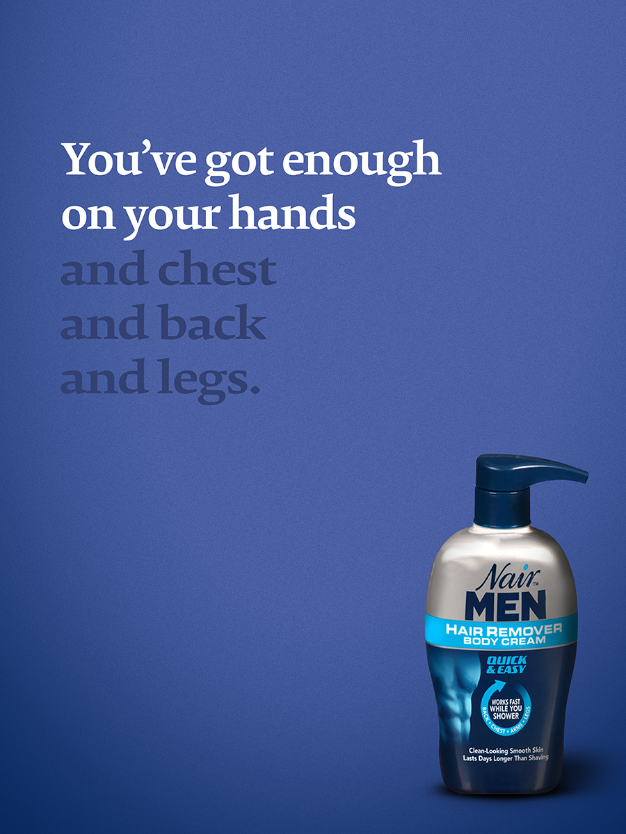 Nair for Men 3
